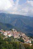 Italië Provincie van Imperia Oud middeleeuws dorp Triora Stock Afbeelding