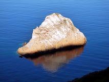 Italië, Sardinige, panorama op de overzeese rotsen DE IL Morto l ` Agusteri royalty-vrije stock fotografie