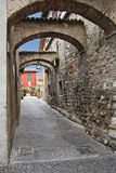 Italië, Sirmione Stock Foto