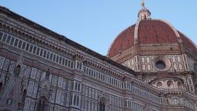 Italië Toscanië Florence Cattedrale-Di Santa Maria del Fiore stock video