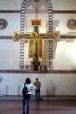 Italië, Toscanië, Florence, Cimabue-kruisbeeld Royalty-vrije Stock Fotografie