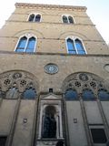 Italië, Toscanië, Florence, een prachtig Gotisch gebouw stock fotografie