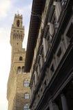 Italië, Toscanië, Florence, Palazzo Vecchio, Vierkante della Signoria Stock Foto's