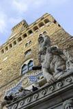 Italië, Toscanië, Florence, Palazzo Vecchio, Vierkante della Signoria Stock Afbeelding