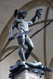 Italië, Toscanië, Florence, Perseo-Di Benvenuto Cellini, Vierkante della Signoria Royalty-vrije Stock Afbeeldingen