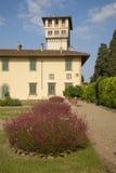Italië, Toscanië, Florence, Petraia-villa stock afbeelding