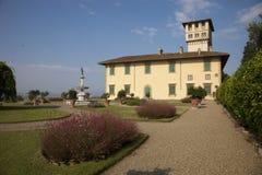 Italië, Toscanië, Florence, Petraia-villa stock fotografie