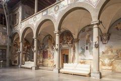 Italië, Toscanië, Florence, Petraia-villa stock foto's