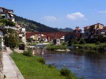 Italië, Toscanië, Pontassieve Stock Foto