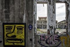 Italië - Turijn - af fabriek stock afbeeldingen
