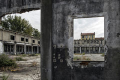 Italië - Turijn - af fabriek stock afbeelding