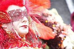 Italië, Venetië Carnaval Stock Afbeelding
