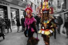 Italië, Venetië Carnaval Royalty-vrije Stock Afbeelding