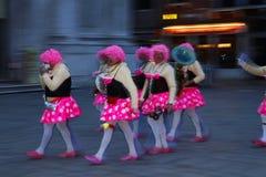 Italië, Venetië Carnaval Stock Afbeeldingen