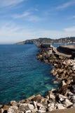 Italië-Ischia-landschap Stock Afbeelding