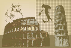 Italia Royalty Free Stock Images