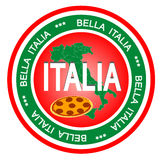 Italia badge Royalty Free Stock Photos