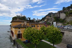 2016 Italia Beatifull Gargnano Foto de archivo