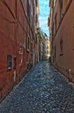 Italia Calles de Trastevere en Roma Italia fotos de archivo libres de regalías