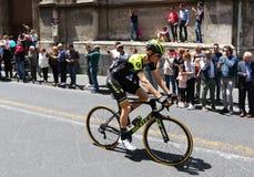 ` Italia 2018 del giro d 4ta etapa en Catania, Sicilia imagen de archivo libre de regalías