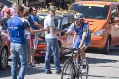 ` Italia 2017 do Giro d Fotografia de Stock