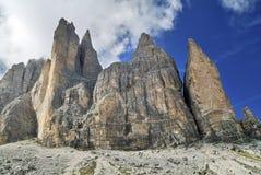 Italia Dolomites Royaltyfria Bilder