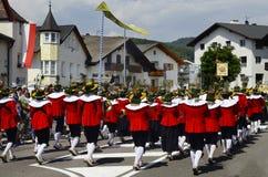 Italia, el Tyrol del sur imágenes de archivo libres de regalías