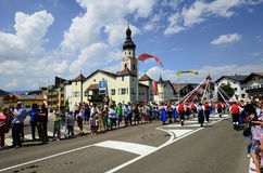 Italia, el Tyrol del sur, festival foto de archivo libre de regalías