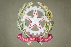 Italia Emblem Stock Images
