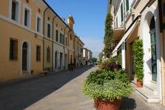 Italia, Emilia Romagna, Cervia Fotografía de archivo libre de regalías