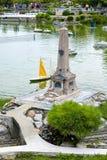 Italia en la miniatura, mini-parque Fotografía de archivo libre de regalías