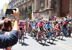` Italia 2018 för Postgirot D 4th etapp i Catania, Sicilien Fotografering för Bildbyråer