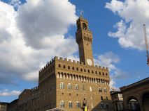 Italia, Florencia, repositorio famoso de Palazzo Vecchio fotos de archivo