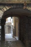 Italia - gaeta - ciudad y puerto históricos fotografía de archivo libre de regalías
