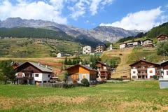 Italia - parque nacional de Stelvio fotos de archivo