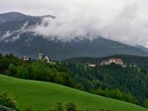 Italia-perspectiva en Rodeneck Fotografía de archivo