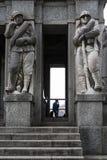 Italia - Piemonte - Verbania - Pallanza - Lago Maggiore. Mausoleum Cadorna general Stock Photography