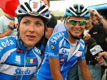 Italia que gana los campeonatos 2009 del ciclo del mundo de UCI imagen de archivo