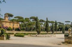 Italia - Roma - chalet Borghese Foto de archivo