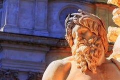 Italia, Roma, navona de la plaza Fotos de archivo libres de regalías