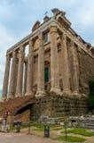 Italia Roma Roman Forum Imagen de archivo