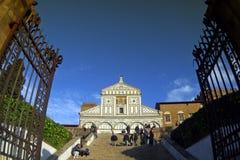 Italia, Toscana, Florencia, iglesia de Monte del al del Sa Miniato Fotografía de archivo