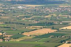 Italia: Valle de Padana Foto de archivo libre de regalías