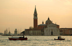 Italia. Venecia. Basilica di San Jorge Maggiore Foto de archivo libre de regalías