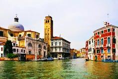 Italia Venecia Canales y arquitectura Imagenes de archivo