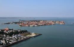Italia, Venecia, isla de Murano, isla del St. Micaela Fotos de archivo