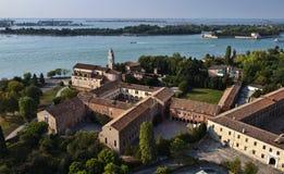 Italia, Venecia, isla del St. Nicolò Lido Foto de archivo