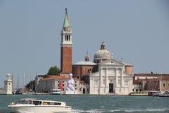 Italia, Venecia, San Jorge Maggiore Fotos de archivo
