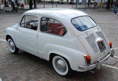 Italia: Vintage Fiat 600 de la expo en Campania, mayo de 2010 imágenes de archivo libres de regalías