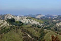 Italia Vista de la cadena de montaña del Apennines Imagenes de archivo